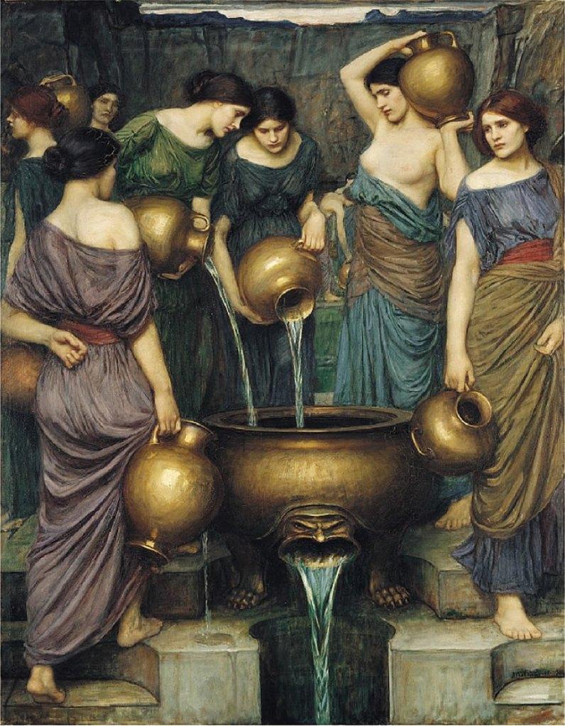 Danaides de Waterhouse