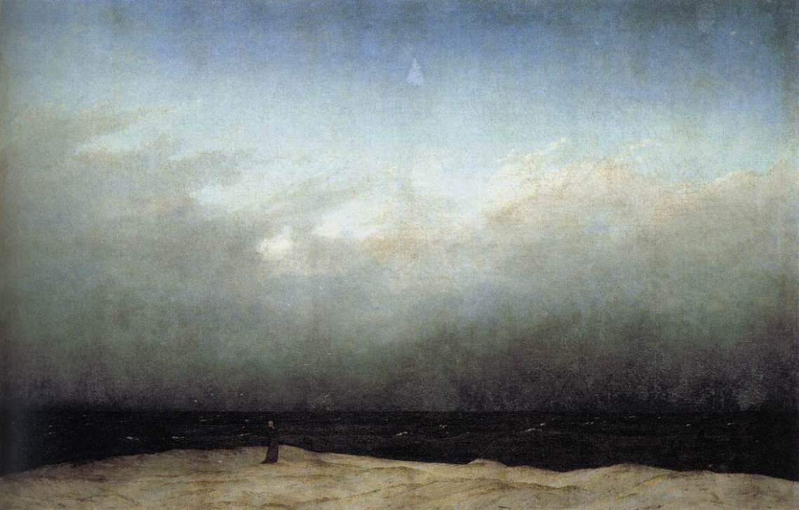 friedrich-monje-a-la-orilla-del-mar-1809