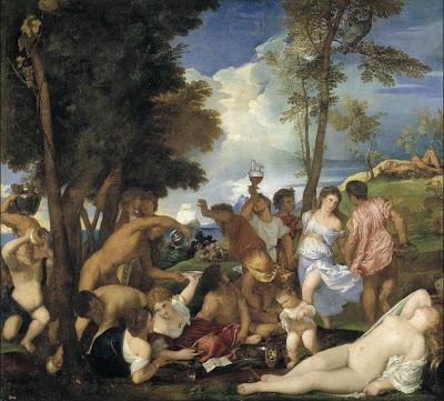 Bacanal de Tiziano