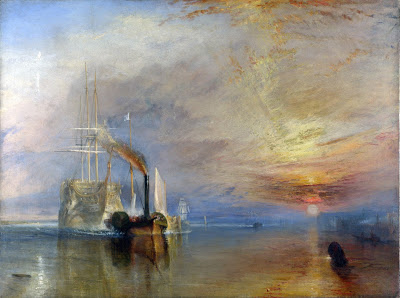 El temerario remolcado a dique seco de William Turner