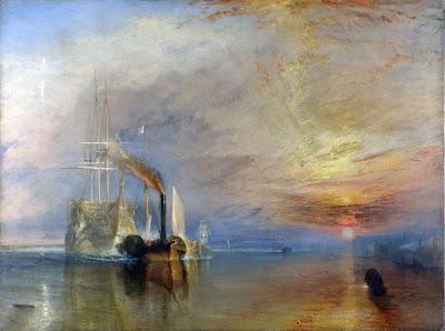 El temerario remolcado a dique seco de William Turner