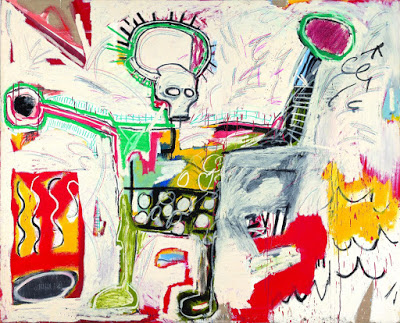 Sín título, 1982, Jean-Michel Basquiat.