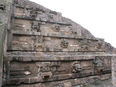 Templo de Quetzalcoatl, Teotihuacán (México)