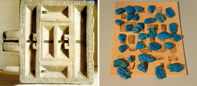 Colección de antigüedades egipcias de Highclere Castle.