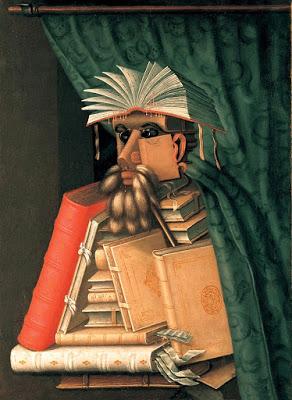 El bibliotecario, Arcimboldo