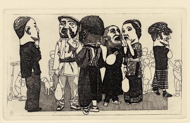 Grabado de José Luis Noain