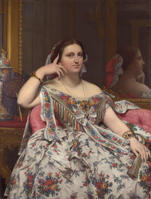 Madamme de Moitessier, Ingres