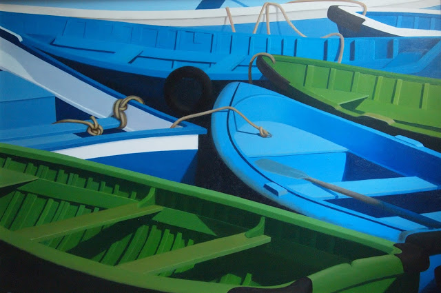 Nudo de barcas. Carmen Maura