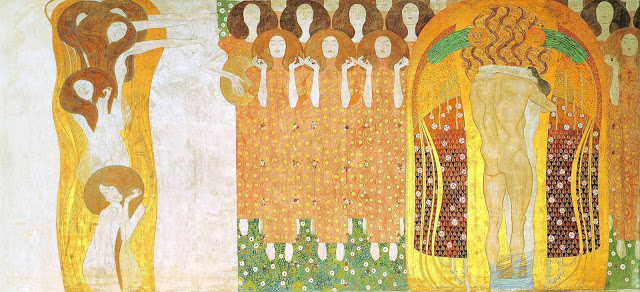 Friso Beethoven, Gustav Klimt