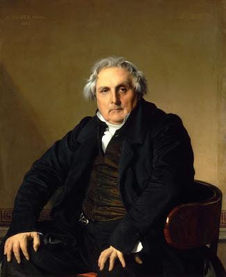 Retrato de Monsieur Bertin, Ingres