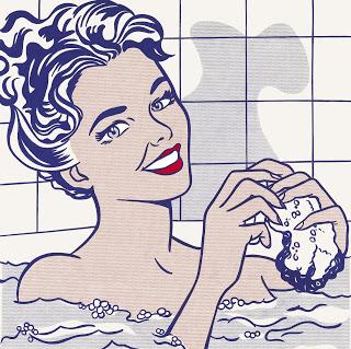 Mujer en el baño, Roy Lichtenstein