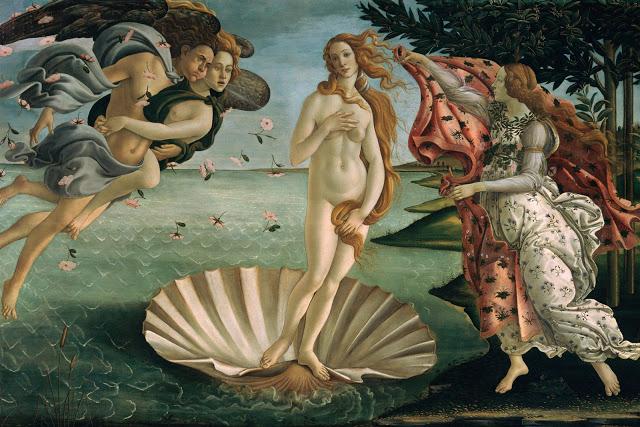 El nacimiento de Venus, Sandro Boticelli
