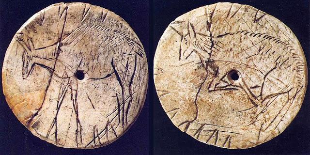 Disco paleolítico de Laugerie Basse