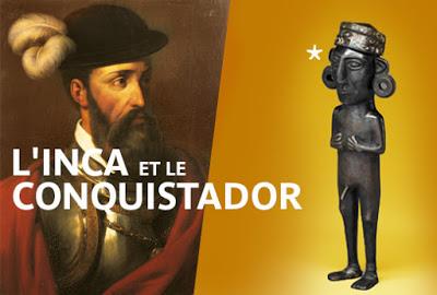 El Inca y el Conquistador. Museo Quai Branly de París