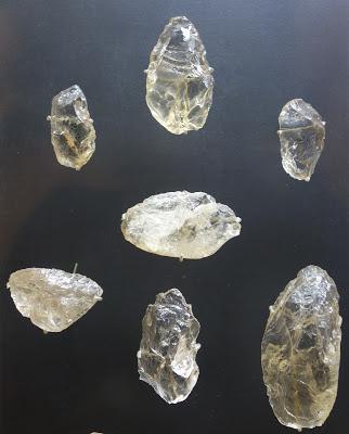 Utiles en cristal de roca neandertales