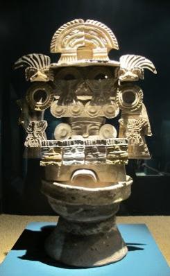Incensario de Teotihuacán, México
