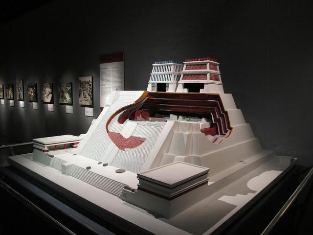 Maqueta del Templo Mayor. Museo del Templo Mayor, ciudad de México