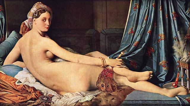 La Gran Odalisca, Ingres.