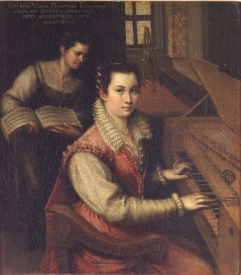 Autorretrato, Lavinia Fonatana.