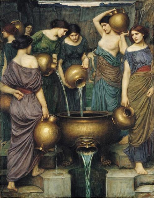 Danaides, John William Waterhouse