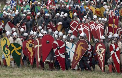 Recreación de la Batalla de Hastings