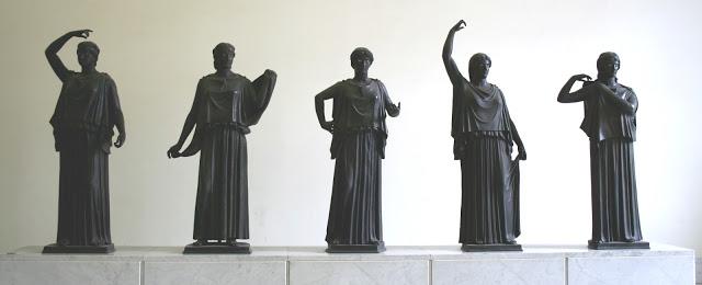 Las Danaides. Villa de los Papiros, Herculano