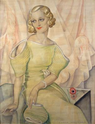 Retrato de Eva Heramb, Gerda Wegener