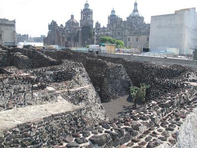 Restos arqueológicos del Templo Mayor y Catedral