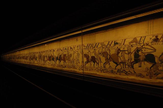 Musealización del Tapiz de Bayeux