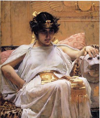 Cleopatra, John William Waterhouse