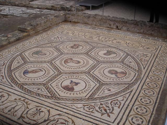 Mosaico de Los Planetas (días de la semana), Ecija.