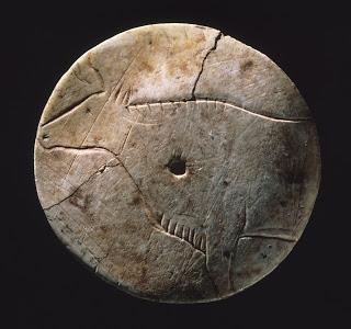 Disco o rodete del Paleolítico