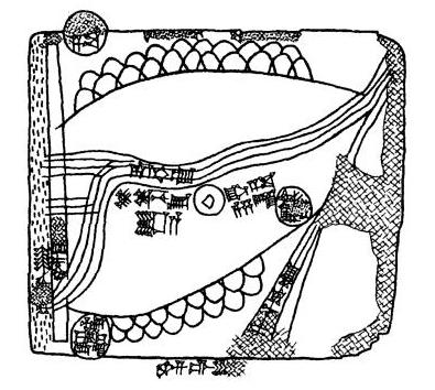 Mapa de Gasur. Los Viajes de Aspasia