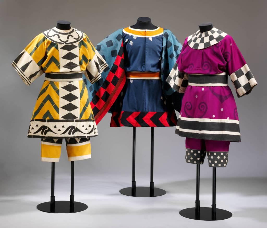 Diseños de vestuario ballets Diaghilev