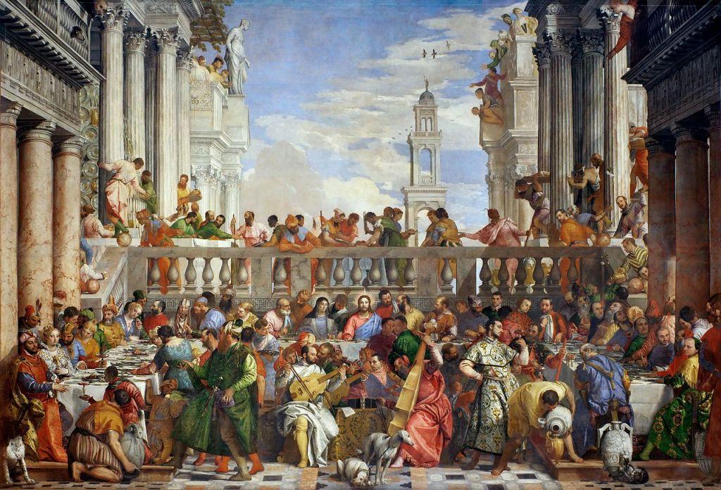 Las bodas de Caná, Veronese