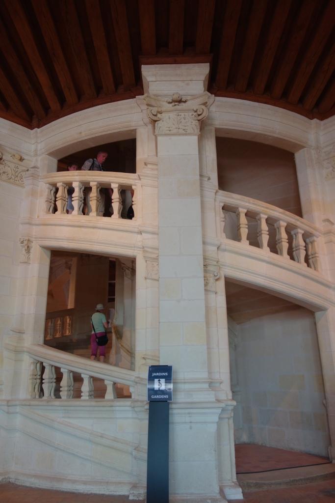 Escalera de Chambord